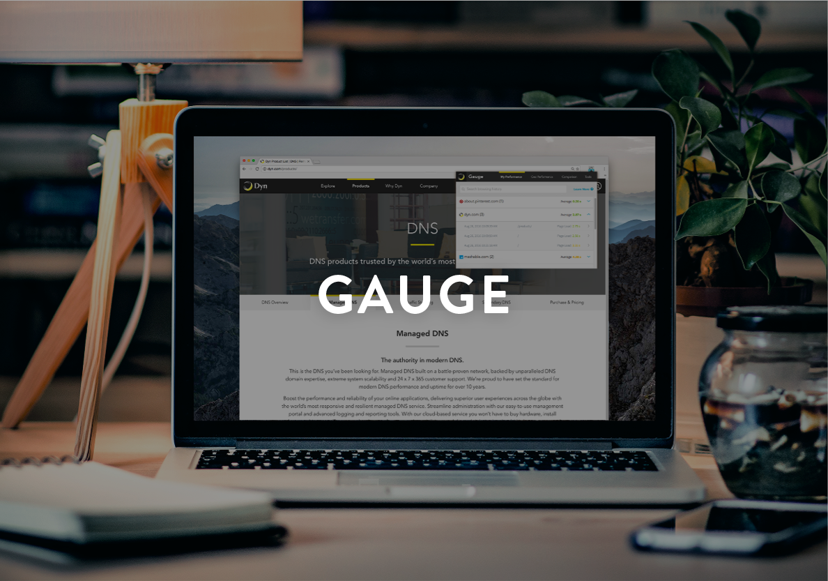 Gauge: A Chrome Exension